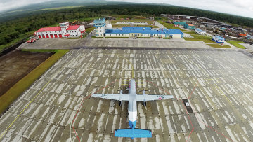 Новый аэропорт открылся на южно-курильском острове Итуруп