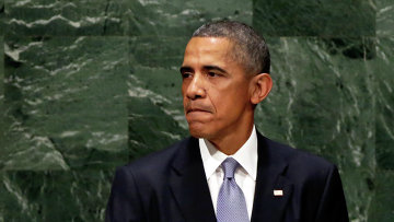 Барак Обама на трибуне ГА ООН. Архивное фото