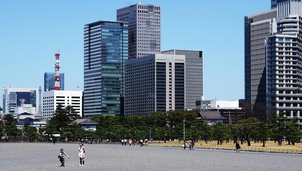 Вид на город Токио. Архивное фото