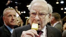 Американский предприниматель и инвестор Уоррен Баффетт