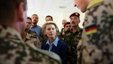 Министр обороны Германии Урсула фон дер Ляйен. Архивное фото