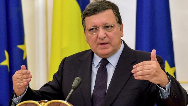 Президент Европейской комиссии Жозе Мануэль Баррозу. Архивное фото