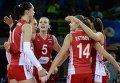 Волейбол. Чемпионат мира. Женщины. Матч Болгария - Россия