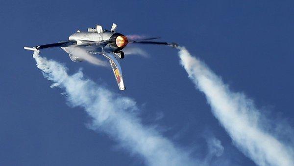 Бельгийский истребитель F16. Архивное фото