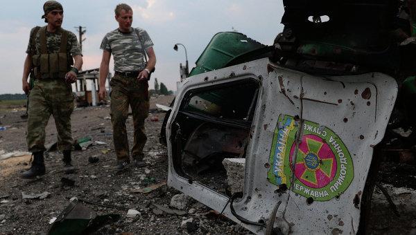 Ополченцы Луганской народной республики. Архивное фото