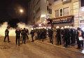 Акции протеста в Турции против политики невмешательства турецкого правительства в конфликт в Сирии