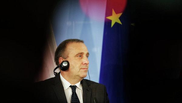 Министр иностранных дел Польши Гжегож Схетына. Архивное фото