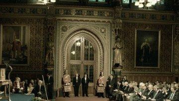 Члены обеих палат Британского парламента. Архивное фото
