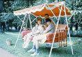 Михаил Сергеевич Горбачев с семьей на даче