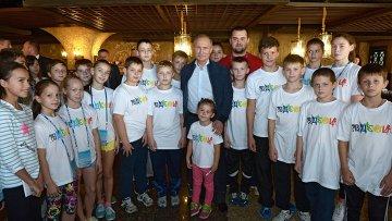 Рабочая поездка В.Путина в Сочи