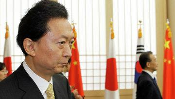 Бывший премьер-министр Японии Юкио Хатояма