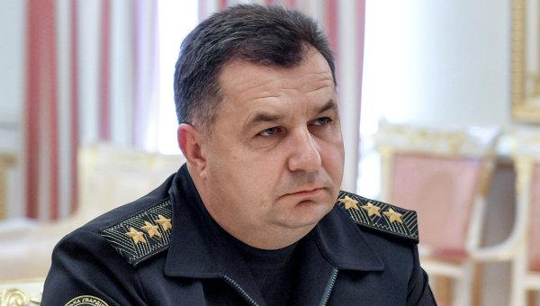 Командующий Национальной гвардией Украины Степан Полторак. Архивное фото