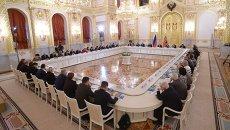 Заседание Совета по развитию гражданского общества. Архивное фото