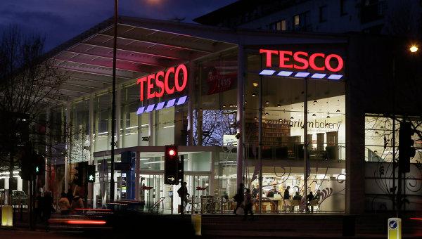 Магазин Tesco в Лондоне