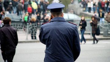 Сотрудник правоохранительных органов Украины. Архивное фото