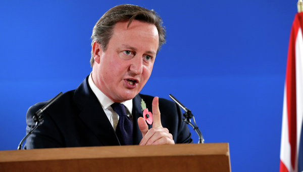 Британский премьер-министр Дэвид Кэмерон, архивное фото