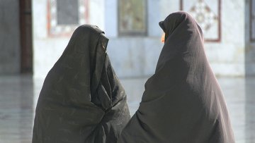 Арабские женщины в хиджабах