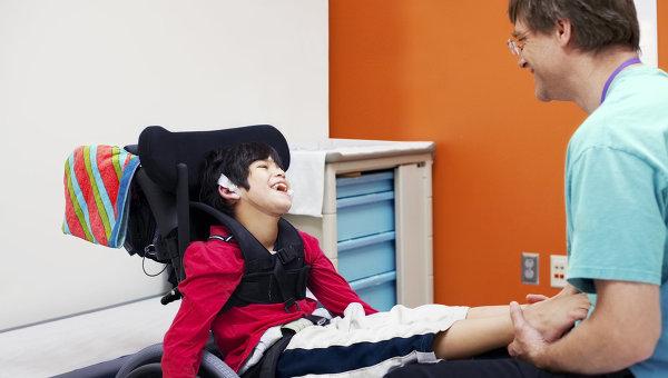 Уход за ребенком с церебральным параличом