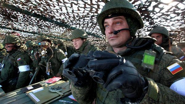 Морские пехотинцы во время учений. Архивное фото