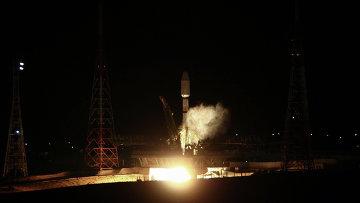 Пуск ракеты-носителя Союз, архивное фото