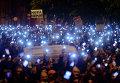 Протест против введения налога на интернет в Венгрии