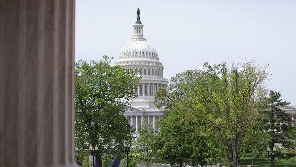 Здание Конгресса Сша в городе Вашингтон
