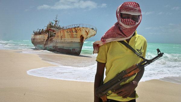 Современный пират. Архивное фото