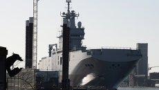 Десантный корабль Владивосток класса Мистраль. Архивное фото