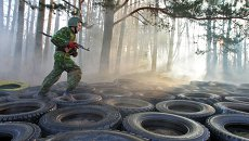 Сдача экзамена на краповый берет служащими белорусского спецназа