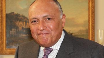 Глава МИД Египта Самех Шукри. Архивное фото