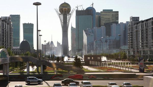 Столица Казахстана Астана. Архивное фото