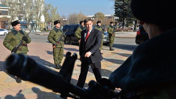 Инаугурация главы ДНР А.Захарченко. Архивное фото