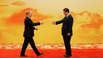 Президент России Владимир Путин и председатель КНР Си Цзиньпин на саммите АТЭС