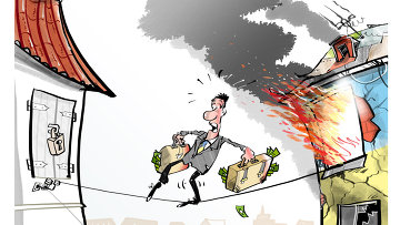 Украинский бизнес побежал из страны
