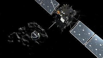 Научный модуль Фила и комический зонд Розетта