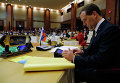 Председатель правительства РФ Дмитрий Медведев на 9-м Восточноазиатском саммите