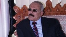 Экс-президент Йемена Али Абдалла Салех. Архивное фото