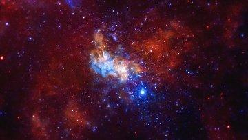 Гигантская черная дыра в центре Млечного Пути
