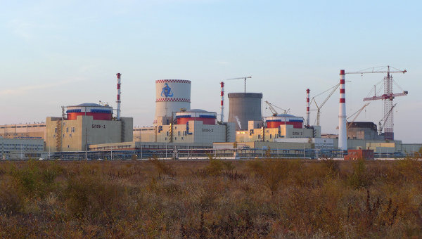 Ростовская АЭС. Архивное фото