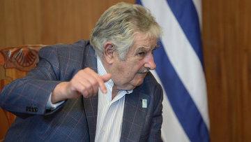 Президент Восточной Республики Уругвай Хосе Мухико. Архивное фото
