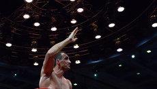 Украинский боксер Владимир Кличко, архивное фото