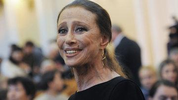 Балерина Майя Плисецкая. Архивное фото