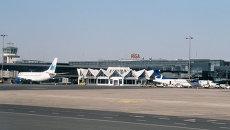 Работа аэропорта Риги. Архивное фото