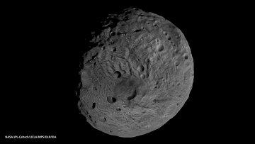 Снимок астероида Веста, полученный зондом Dawn