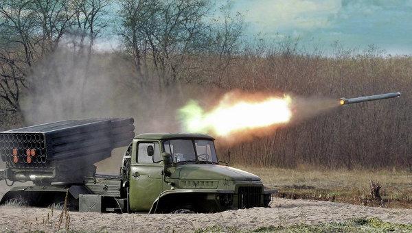 Реактивная система залпового огня БМ-21 «Град». Архивное фото