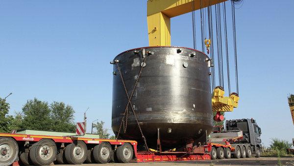 Ловушка расплава для второго энергоблока Белорусской АЭС