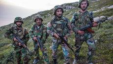 Саперы правительственной армии Сирии. Архивное фото
