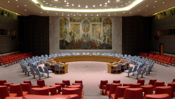 Зал заседаний Совета Безопасности ООН. Архивное фото