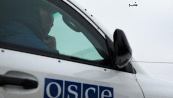 Наблюдатели ОБСЕ на Украине. Архивное фото
