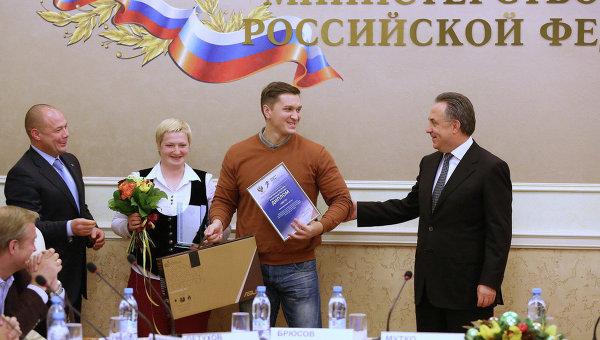 Виталий Мутко (справа)
